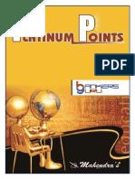 Platinum Points English