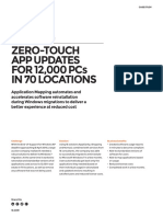 Zero-Touch App Updates For 12,000 Pcs in 70 Locations | 1E