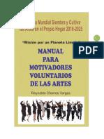 MANUAL PARA MOTIVADORES VOLUNTARIOS EN ARTES