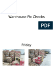 Warehouse Pic Checks