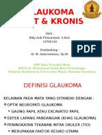 Referat Glaukoma Akut & Kronis