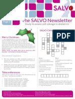 SALVO Newsletter December 15
