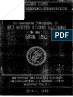 An Annotated Bibliography of the United States Marines in the Civil War