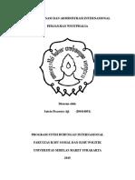 Organisasi Dan Administrasi Internasional