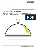 7 Steps to Power Your Restaurant Business