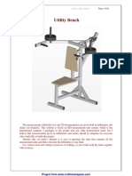 Utility Bench maquinas de musculaçao