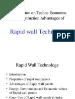 Presentation on Techno Economic and Construction Advantages Of