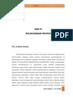 Bab IV Pelaksanaan Proyek