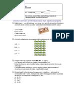 Prueba Global Matematica