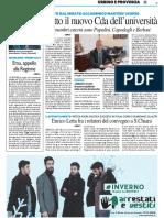 Fatto il nuovo Cda dell'Università / Ersu, appello alla Regione / Enrico Letta fra i relatori del convegno di La Polis a S. Chiara - Il Resto del Carlino del 18 dicembre 2015