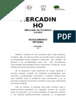 Regulamento Mercadinho Aprovado 30 Junho 2015