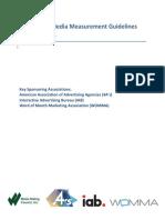 MRC Social Measurement Guidelines