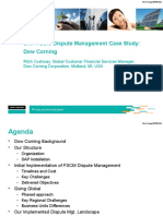 SAP FSCM Dispute Management Case Study Dow Corning