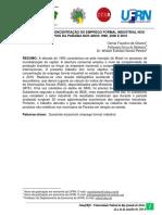Localização e Concentração Do Emprego Formal Industrial Nos Municípios Da Paraíba Nos Anos 1990, 2000 e 2010