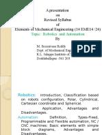 Robotics & Automation by M. Sreenivasa Reddy