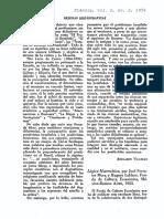comentario revista dianoia 1952