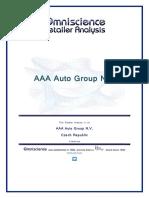 AAA Auto Group N v Czech Republic