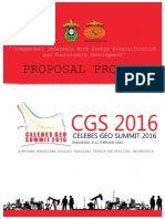Proposal Celebes Geosummit 2016