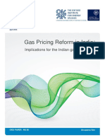 Gas Pricing Reform in India