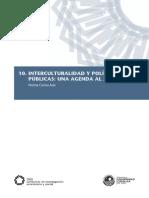 Interculturalidad y Politicas Publicas Una Agenda Al 2016