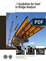 Guidelines for Steel Girder Bridge Analysis'