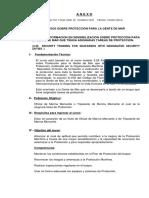 Curso OMI 3.26 Formacin en Sensibilizacin Sobre Proteccin Para a Gente de Mar Que Tenga Asignadas Tareas de Proteccin