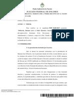 Declaran inconstitucional los nombramientos en la Corte por decreto
