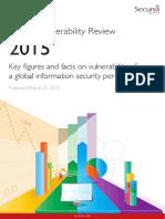 Secunia Vulnerability Review 2015