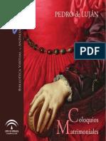 Luján, Coloquios Matrimoniales, ed. Asunción Rallo