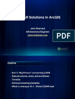 CCGISUG Best Practices for Working With LiDAR Data in ArcGIS
