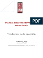 Manual Psicoeducativo Disfuncion Erectil