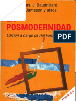 HABERMAS-La modernidad un proyecto incompleto-OWENS-El discurso de los otros, Las feministas y el Posmodernismo.pdf