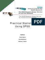3.09 Practical Statistics Using SPSS (2009)