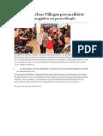 14.12.15 Esteban Villegas Precandidato Del PRI, Su Registro Es Procedente