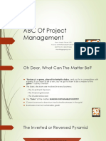 ABC of Project Management