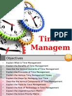 Time Management Demo