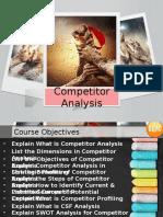 Competitor Analysis Demo