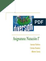 Natacion y Actividades Acuaticas