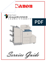 Color+imageRUNNER+C4080,+C4580,+C5185+Service+Guide