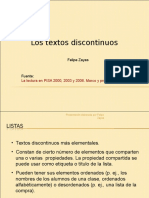 PPT Textos Discontinuos Ayuda Clase.ppt