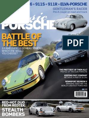 Porsche 911 912 65-73 Front Bumper Fog Light Opening Fiberglass Covers-Pair
