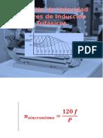 Variación de Velocidad en Motores de Inducción Trifásico
