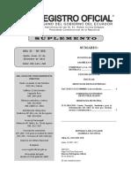 Suplemento Registro Oficial Enmiendas 21 Diciembre 2015 No. 653