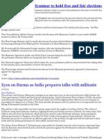 Myanmar News 03/04/10
