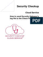 CP Security Checkup Cloud Service AdminGuide-V02