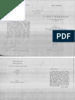 INKELES, A. O Que é Sociologia