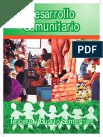 Desarrollo Comunitario 3eroy4to Sem 25052015 r
