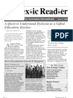 The Dyslexic Reader 2000 - Issue 21