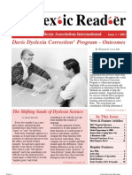 The Dyslexic Reader 2001 Issue 23