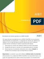 Actualización Software AIRIS OnePAD Con WinImage